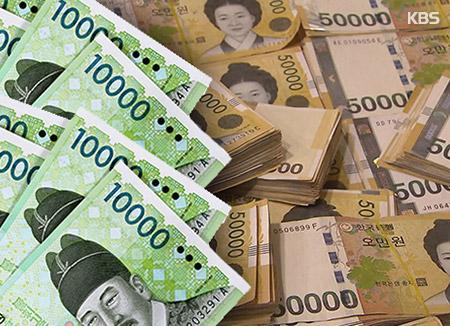 上半期の「損傷現金」 10億3000万ウォン