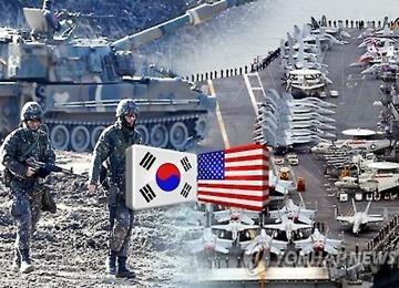 """韩美""""关键决断""""联合军演结束 """"秃鹫""""仍在进行"""