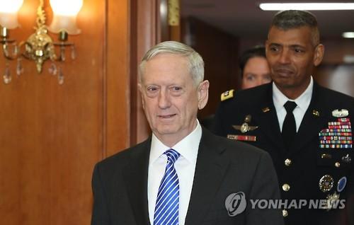 Mattis: US Troop Reduction Not on Agenda for Trump-Kim Summit
