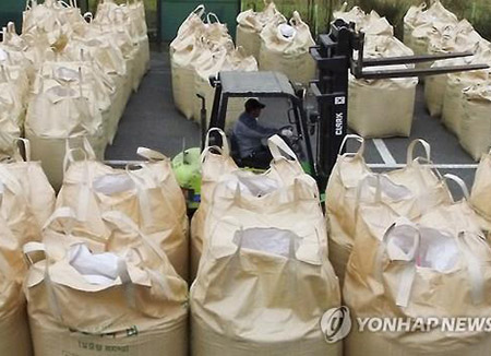 انخفاض حاد في حجم استهلاك الأرز في كوريا الجنوبية