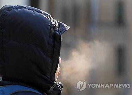 寒冷天气再次席卷韩国