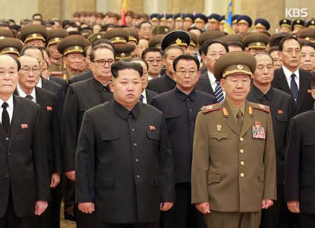 北韩在金正日75岁生日呼吁人民效忠金正恩