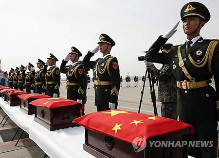 РК передаст Китаю останки солдат, погибших во время Корейской войны
