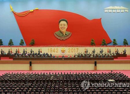 北韩隆重举行金正日生日纪念活动 对金正男被杀却只字未提