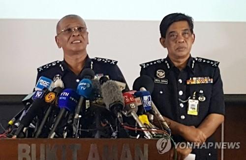 马来西亚警方:金正男暗杀事件男性嫌犯均是北韩人
