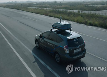 ネイバーが自動運転車公開 道路情報蓄積が目的