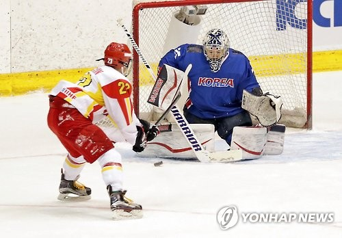 Korean Women's Ice Hockey Team Defeats China after 18 Years
