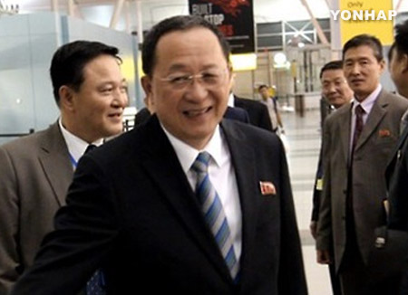 北韓外相 来月のARFへの出席通知