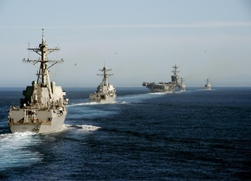 'US Navy Shifts 3rd Fleet to Western Pacific to Deter N. Korean Aggression'