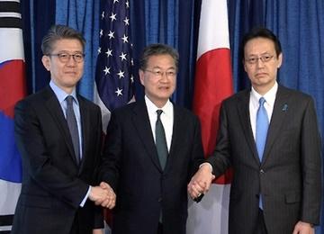 S. Korea, US, Japan Reaffirm N. Korean Threat at Envoy Meeting