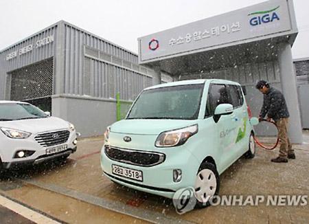 Le gouvernement incite à l'utilisation de véhicules électriques et à hydrogène