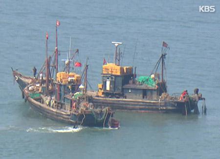 中国漁船の違法操業 前年同期比47%減少