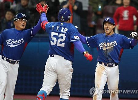 WBC 韓国、台湾に勝利 次回本大会出場権得る