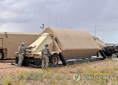 サード 中核部分が韓国に到着