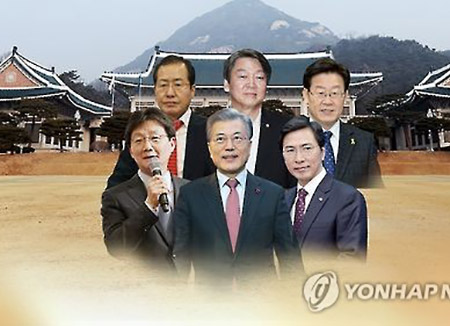 Survey: Moon Jae-in Continues to Lead Among Presidential Hopefuls