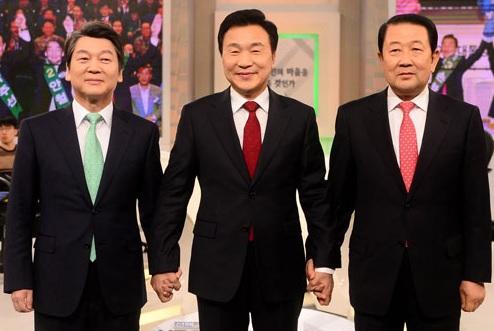 مناظرة تلفزيونية لمرشحي حزب الشعب المعارض