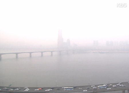 تلوث الهواء يكلف كوريا الجنوبية 10 تريليون وون سنويًا