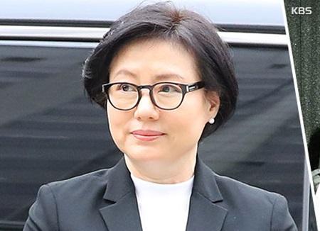 '경영비리' 롯데 3부자·서미경 씨, 법정 출석