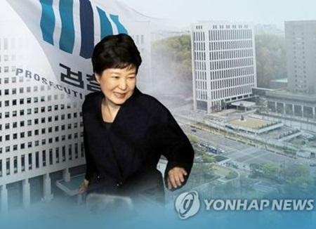 """검찰 """"박근혜에 미르·K스포츠 질문···사실관계 확인에 중점"""""""