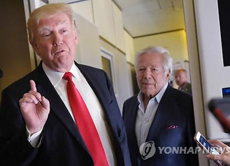 """백악관 """"트럼프, 틸러슨 미 국무와 '북한 고출력엔진시험' 논의"""""""