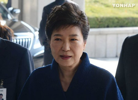 Choi Gate : 1ère audition de Park Geun-hye devant le Parquet