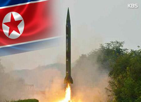 """국방부 """"북한, 미사일 1발 발사 실패"""""""