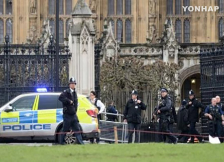 영국 의사당 테러···한국인 5명 부상, 경찰등 4명 숨져