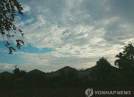 Les nuages dominent malgré quelques éclaircies