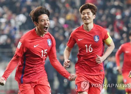 サッカー韓国代表 8日にイラクと強化試合