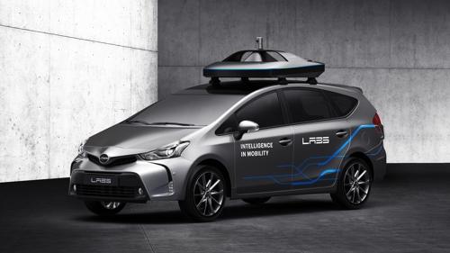 Naver Unveils Autonomous Car at Seoul Motor Show