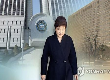 L'émission ou non du mandat d'arrêt contre Park sera décidée dans la nuit de jeudi à vendredi