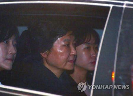 Frühere Präsidentin Park Geun-hye verhaftet