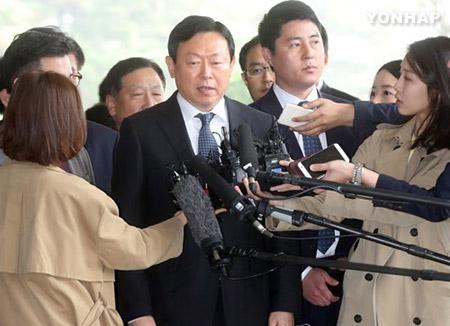 Choi Gate : comparution du PDG de Lotte devant le Parquet