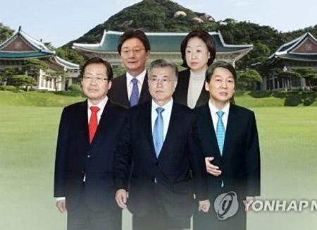 Moon dan Ahn Bersaing Kuat untuk Pilpres