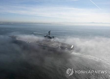 美国航母和核潜艇将集结韩半岛