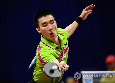 卓球アジア選手権 韓国は男子団体で銀メダル