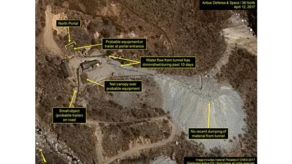 La 'madre de todas las bombas' no era mensaje para Norcorea: Trump