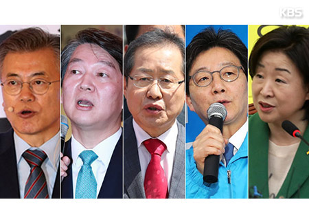 Real Meter Poll: Moon Jae-in Leading Presidential Hopefuls with 44.8% Support