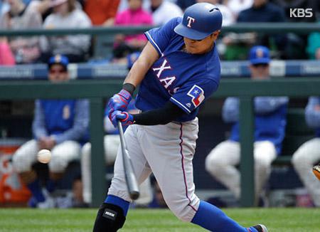 メジャーリーグのチュ・シンス 本塁打など5打点の活躍