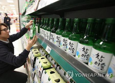 焼酎「チャミスル」 売上1兆ウォンを超える