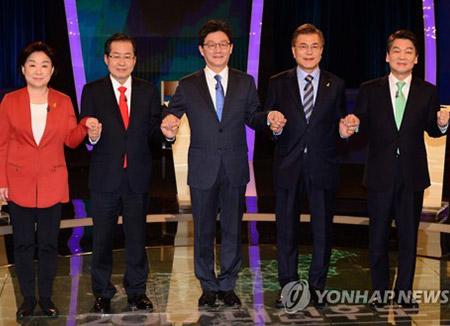 공식선거운동후 첫 TV토론…안보·대북관·주적 공방