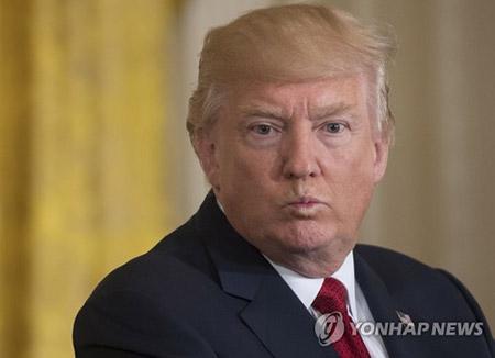 """트럼프 """"중국, 북한 관련 두세 시간 전 매우 드문 움직임 있었다"""" 돌발 언급"""