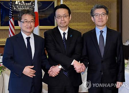 Представители РК, США и Японии обсудили ситуацию на Корейском полуострове