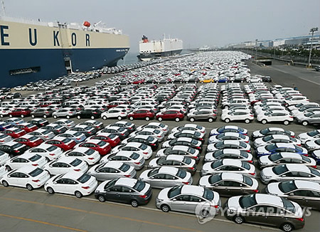 Экспорт автомобилей в апреле вырос