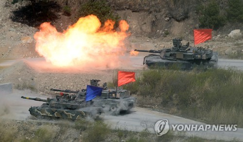 S. Korea, US Conduct Joint Live-Fire Drill