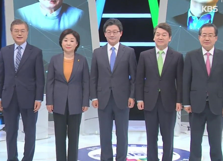 Présidentielle : un cinquième débat télévisé musclé sur l'économie