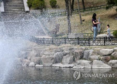 3日のソウル30度2分 85年ぶりの暑さ
