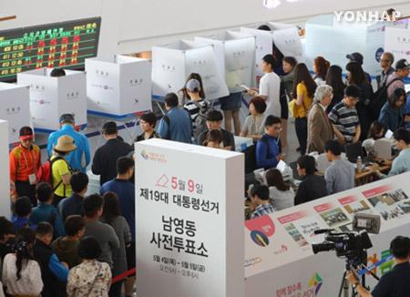 رقم قياسي في التصويت المبكر في الانتخابات الرئاسية يصل لنسبة 26%