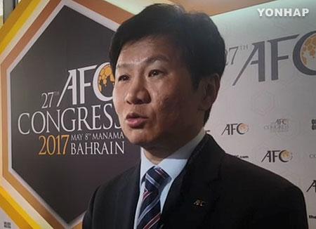 大韓サッカー協会長 FIFA評議会委員に当選