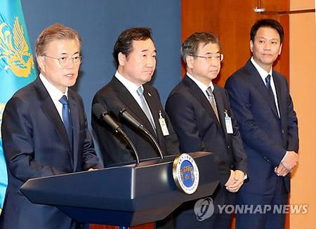 文在寅提名全南知事李洛渊为国务总理
